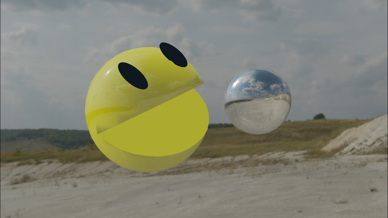 Make Pacman in blender 2.8