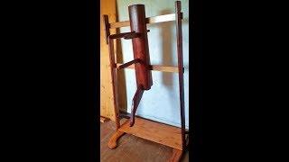 Как сделать Деревянный Манекен Вин Чунь из старой кровати