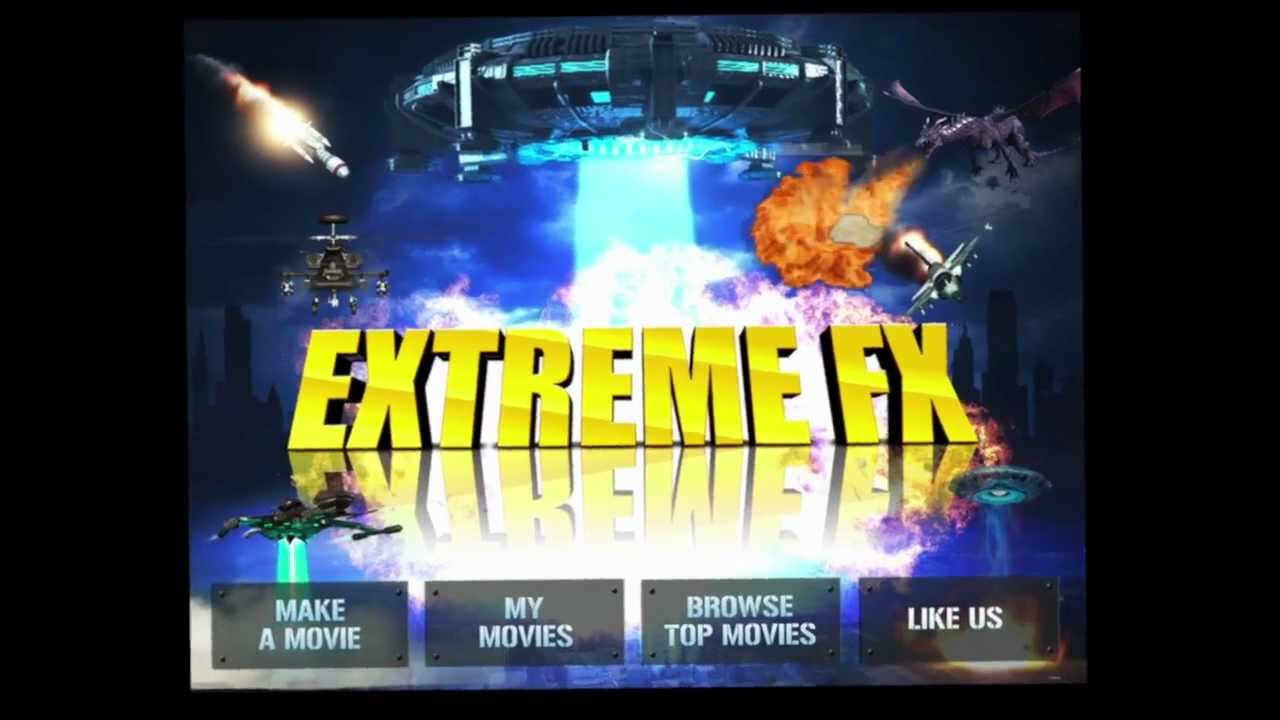 Extreme FX iPad App Video Review (Free Apps) - CrazyMikesapps