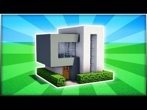 Minecraft How To Build A Easy Small Modern House 2 Pc Xboxone Ps4 Pe Xbox360 Ps3 Youtube