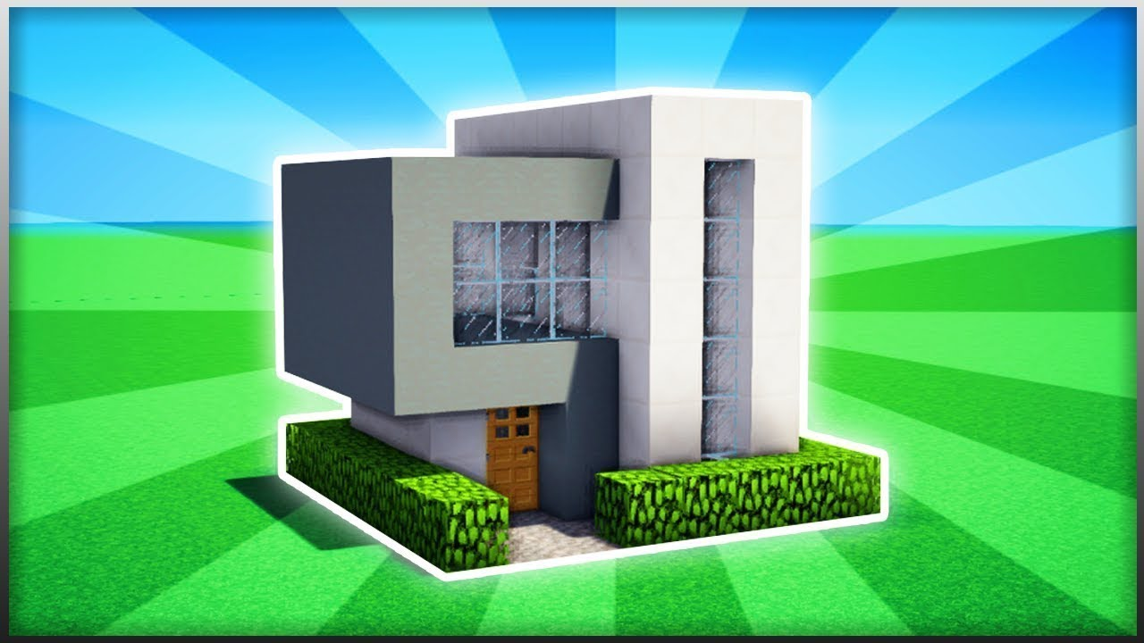 Build Modern House Minecraft Pe