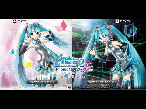 Hatsune Miku Project Diva F 2nd Song List Trailer