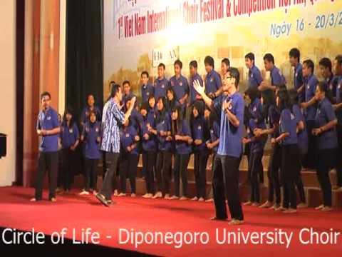 circle of life - DIPONEGORO UNIVERSITY CHOIR (PSM UNDIP)
