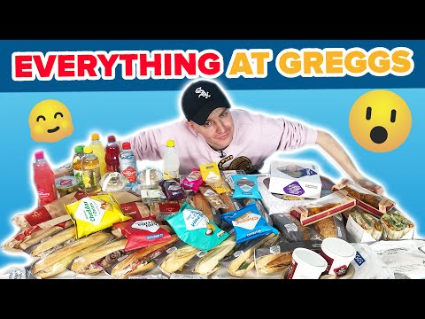 I Ate Everything At Greggs