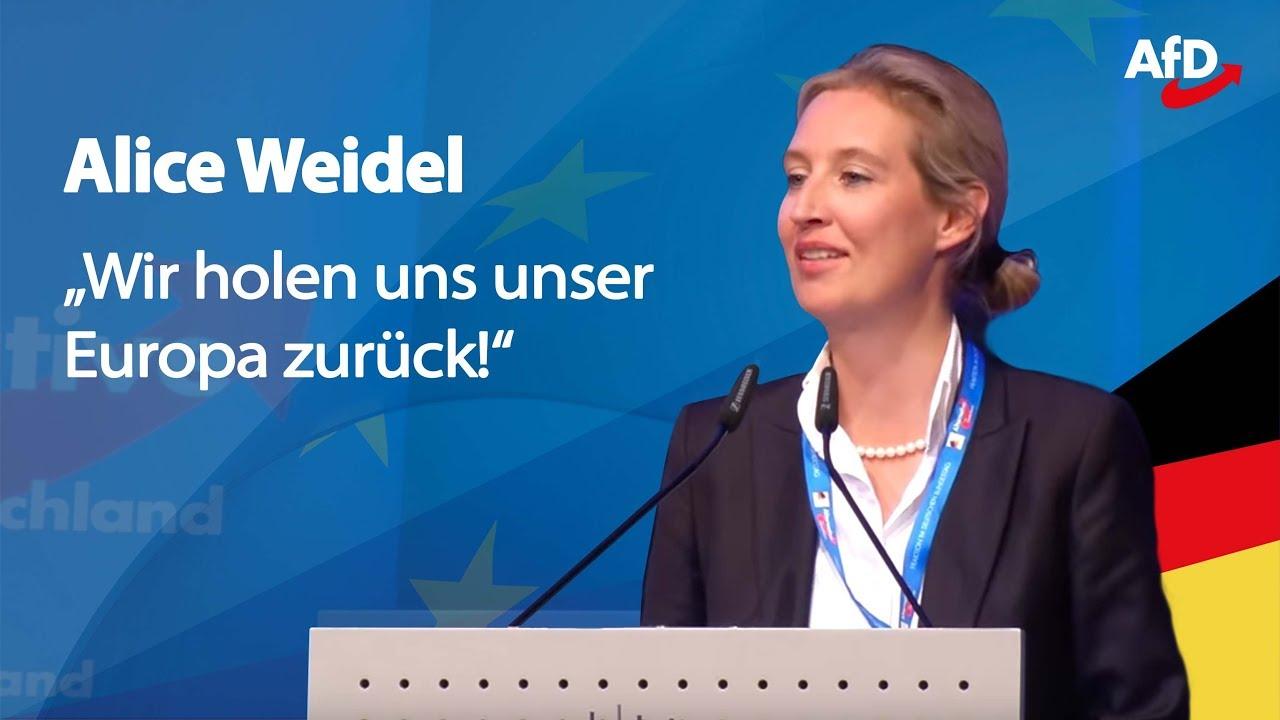 """Alice Weidel in Pforzheim: """"Die EU ist Irrsinn!"""""""