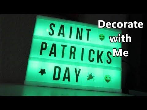 Decorate with Me 3.17.19 day2090