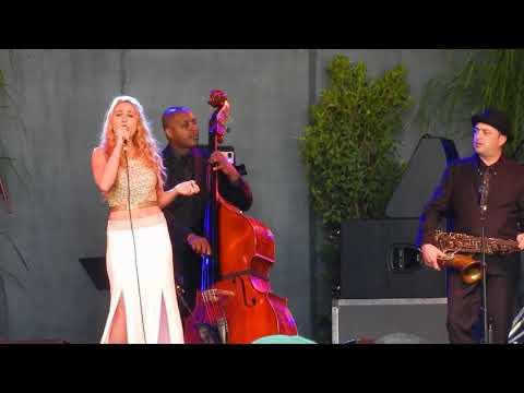Jeff Goldblum band with Haley Reinhart