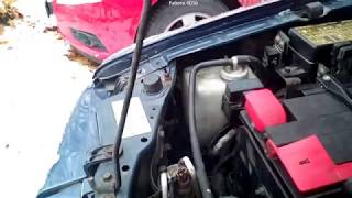 Mitsubishi Pajero Sport работа двигателя