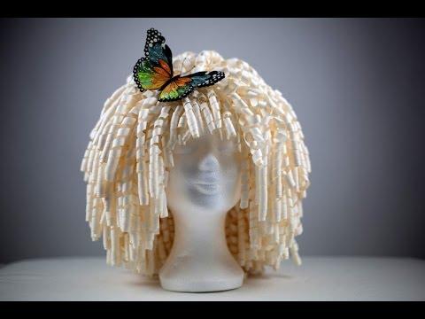 Paper wig - Perruque en papier - Peluca de papel