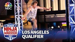 Grant McCartney at the Los Angeles Qualifiers - American Ninja Warrior 2017