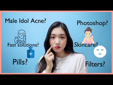 How Kpop Idols Deal With Acne? Idol Insider 🔍