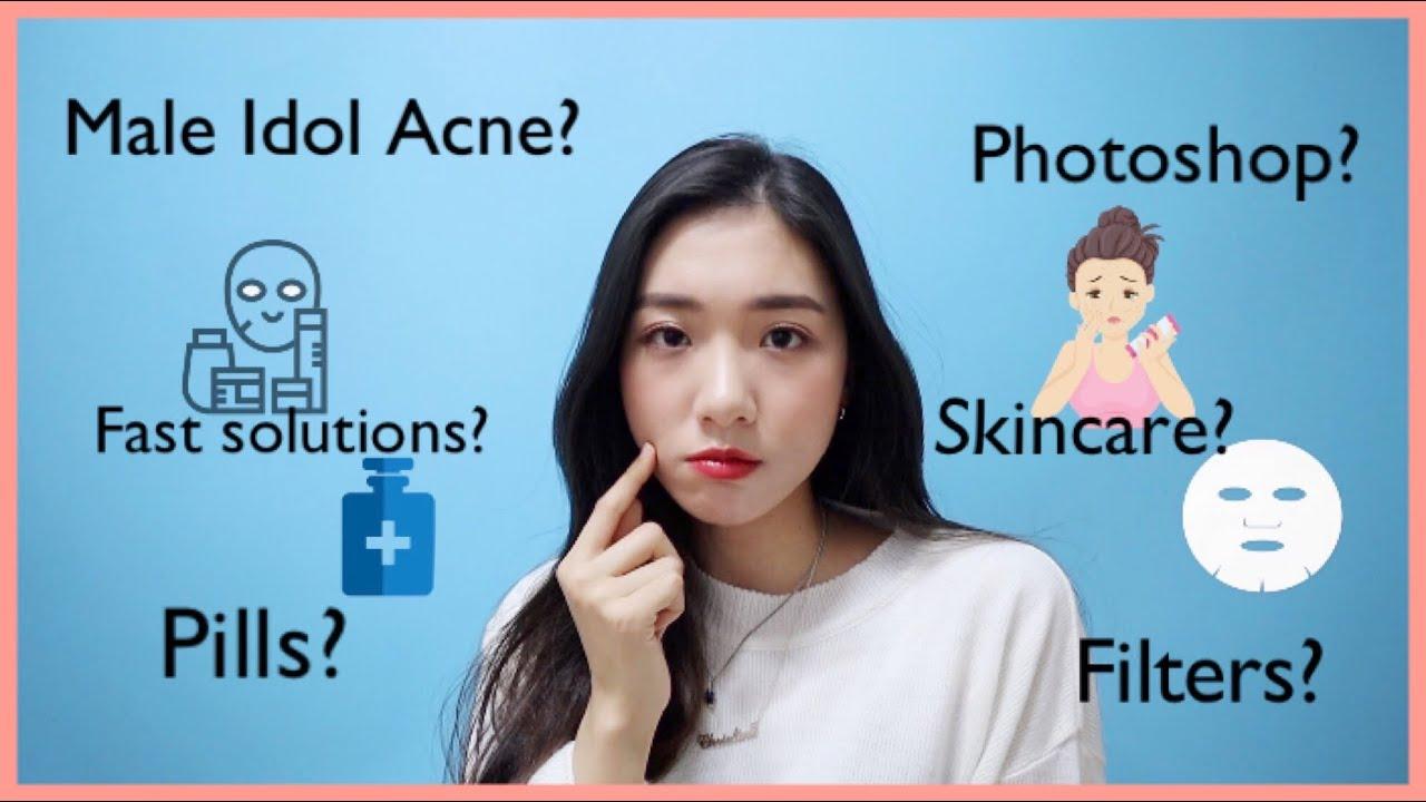 How Kpop Idols Deal With Acne Idol Insider Youtube
