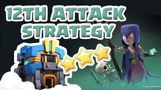 [꽃하마 vs Athena: 지혜의 여신] Clash of Clans War Attack Strategy TH12_클래시오브클랜 12홀 완파 조합(지상)_[#48-ground]