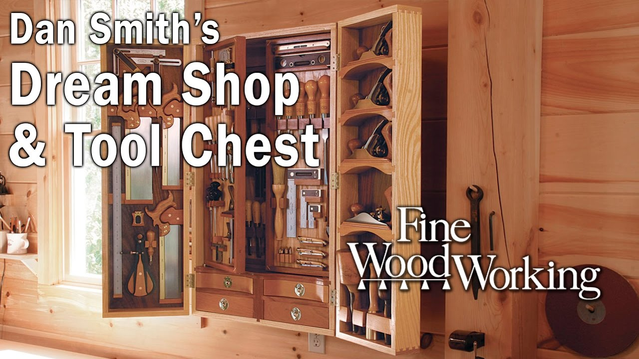 Dan Smith's Dream Shop and Tool Chest - YouTube