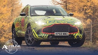 Aston Tests 1st SUV, BMW Uses More 3D Printing - Autoline Daily 2478