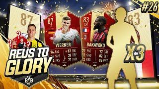 3 WALKOUTS IN A ROW! + SPOTM REUS? | Reus To Glory #26 | FIFA 19 Road To Glory
