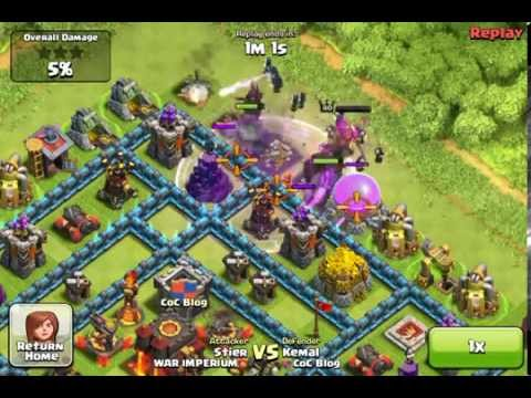clash of clans - attacked Kemal (was 1#), way to 4.000