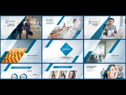 Corporate Pack  After Effects template - YouTube