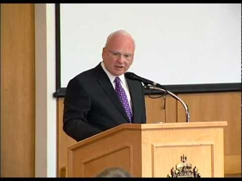 USNA 2012 McCain Conference 'Warfare in a New Domain' - Richard Clarke, author of 'Cyber War'
