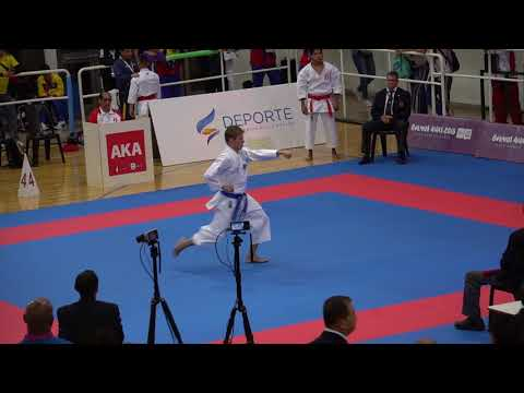 2017 Pan Am U21 Male Kata Santos Rafael BRA