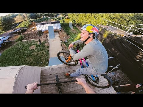 I CAN'T GET ENOUGH OF RIDING MY MTB COMPOUND!!