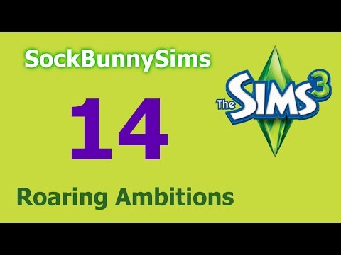 Sims 3 - Roaring Ambitions - Ep 14 - I Love The 80s