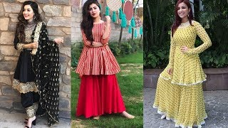 Download Top 50 Peplum Dress Designs || Short Frock Designs For Girls