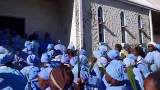 Easter Service, Regina Coeli, Nyanga Zimbabwe 2014