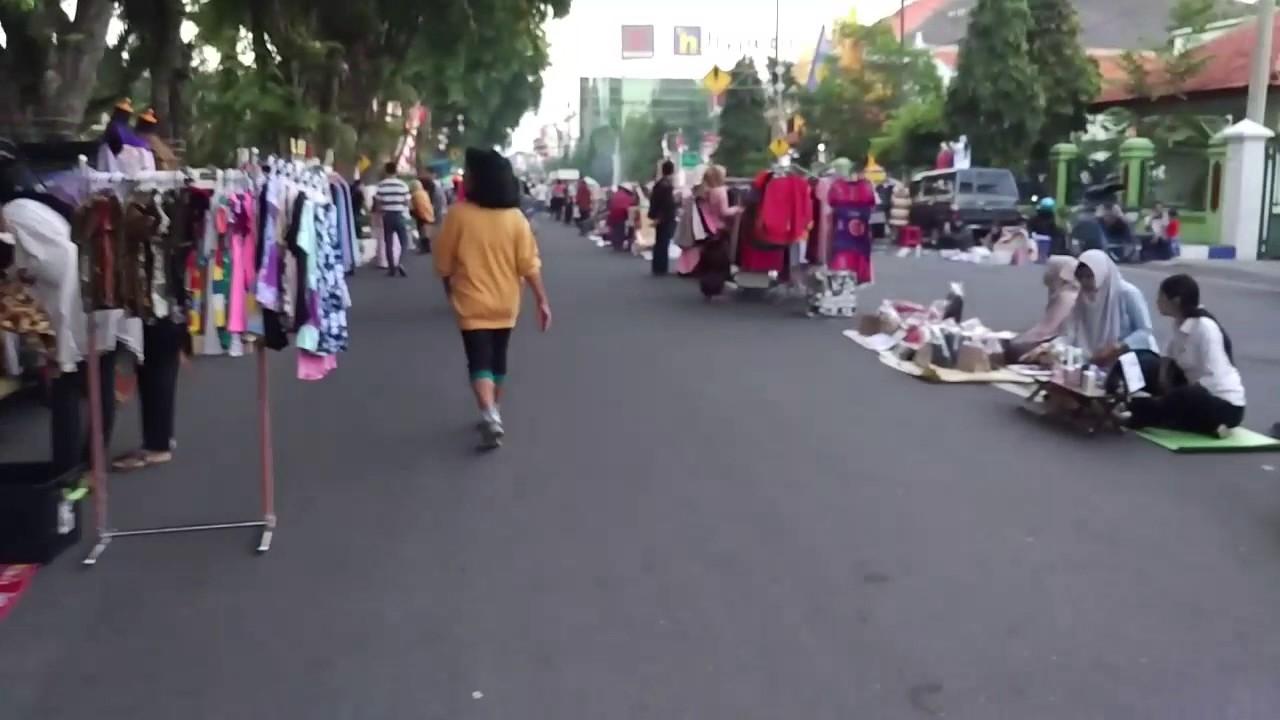 CFD Madiun Pindah ke Taman Bantaran, Pedagang Pasrah