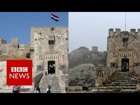 Aleppo Before And After The Battle - BBC News