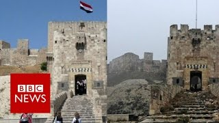 Aleppo before and after the battle   BBC News