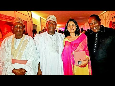 jeff koinange was only kenyan invited to the wedding of ALIKO DANGOTE'S DAUGHTER