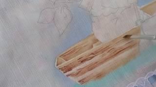 Como pintar imitando madeira