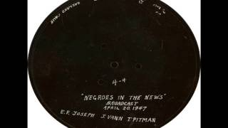 Negroes In The News 04-20-1947 INTERVIEW w/ JESSIE VANN (Wife of Newspaper owner Robert L. Vann) Thumbnail
