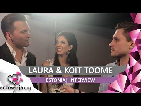 """[Interview] Laura & Koit Toome (Estonia 2017): """"Everyone had Verona-feeling""""  [polskie napisy]"""