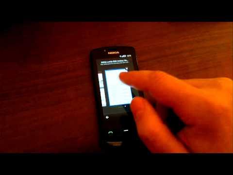 Nokia 700 browsing