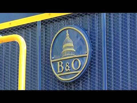 Wilmington & Western 50th: The Dedication of B&O No. 8408