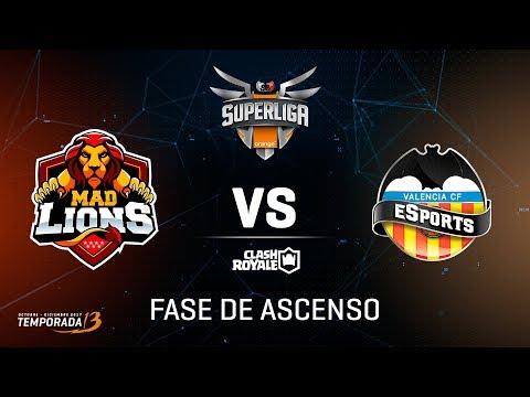 SUPERLIGA ORANGE - Mad Lions E.C. vs VCF eSports - Fase de ascenso #SuperligaorangeCR