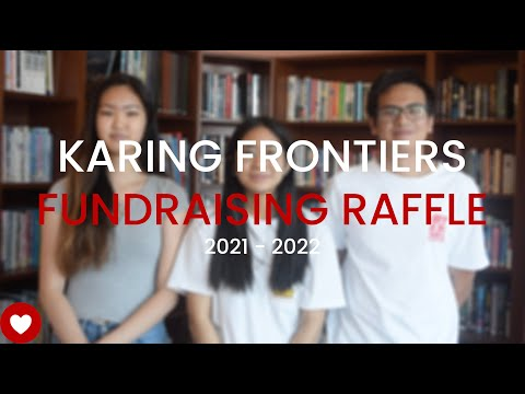 Karing Frontiers - Fundraising Raffle (2021-2022)