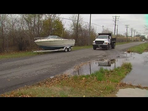 Tracking down owner of dumped boat