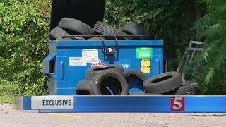 Camera Catches Illegal Dumping Suspect In The Act