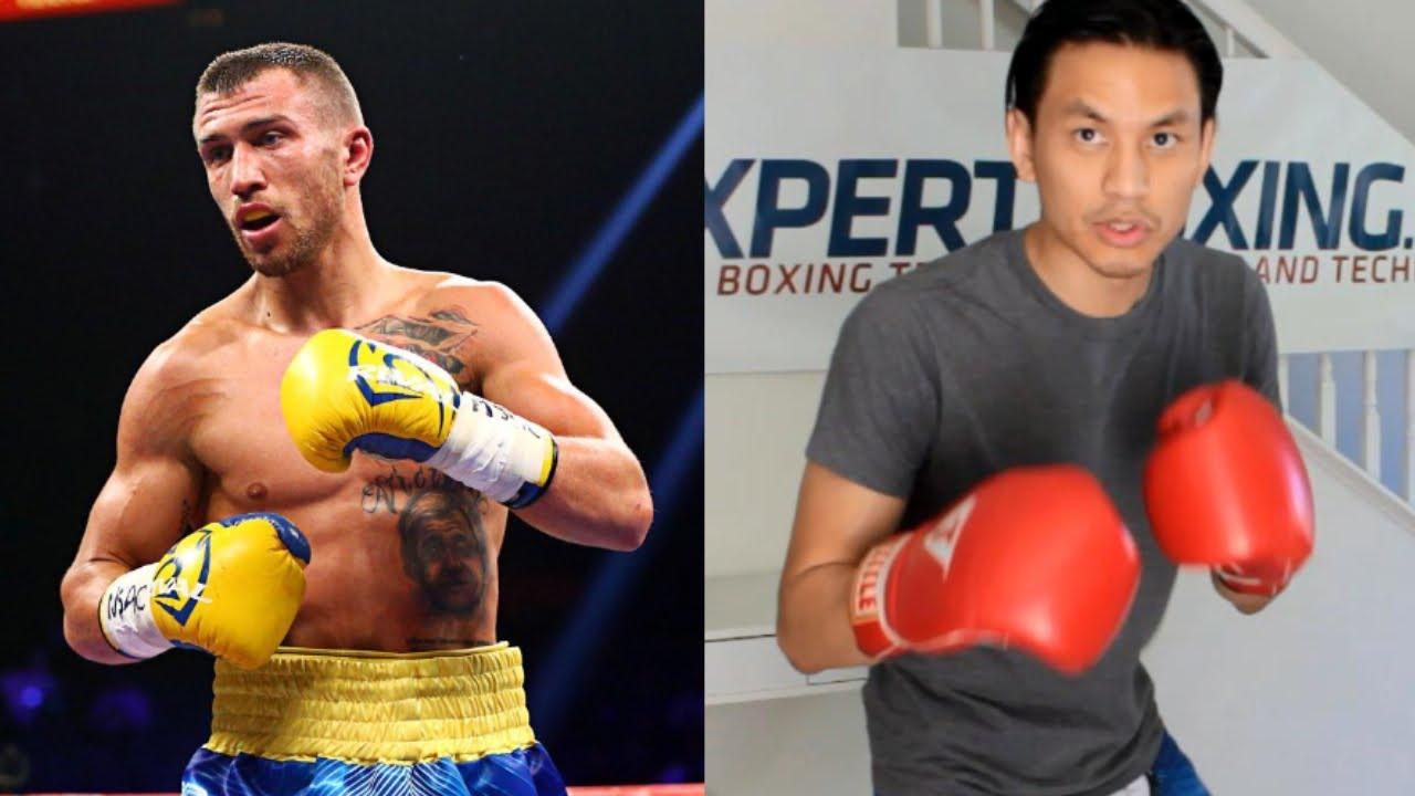 Vasyl Lomachenko 7 Southpaw Boxing Footwork Tricks Youtube
