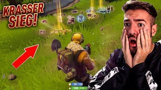 Epischer SIEG mit GOLDENER SCAR + fail 😱💎 Fortnite Battle Royale WakezGaming