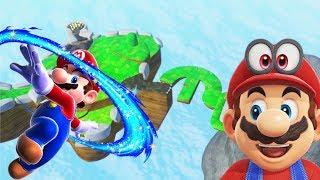 Super Mario Odyssey Custom Level   Yoshi Star Galaxy