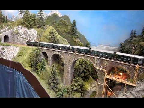 Modellbahn-Messefilm Leipzig 2013 - Leipzig Trade Fair