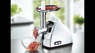 How to assembly a meat grinder