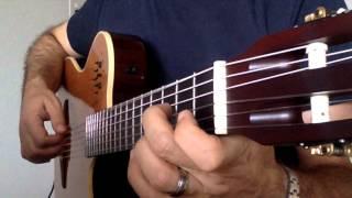 """Guitar  """"  Tombe La Neige by Adamo  """"  Solo"""