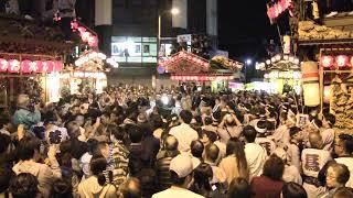 鹿沼 秋祭り 2017 石橋町交差点 ぶっつけ