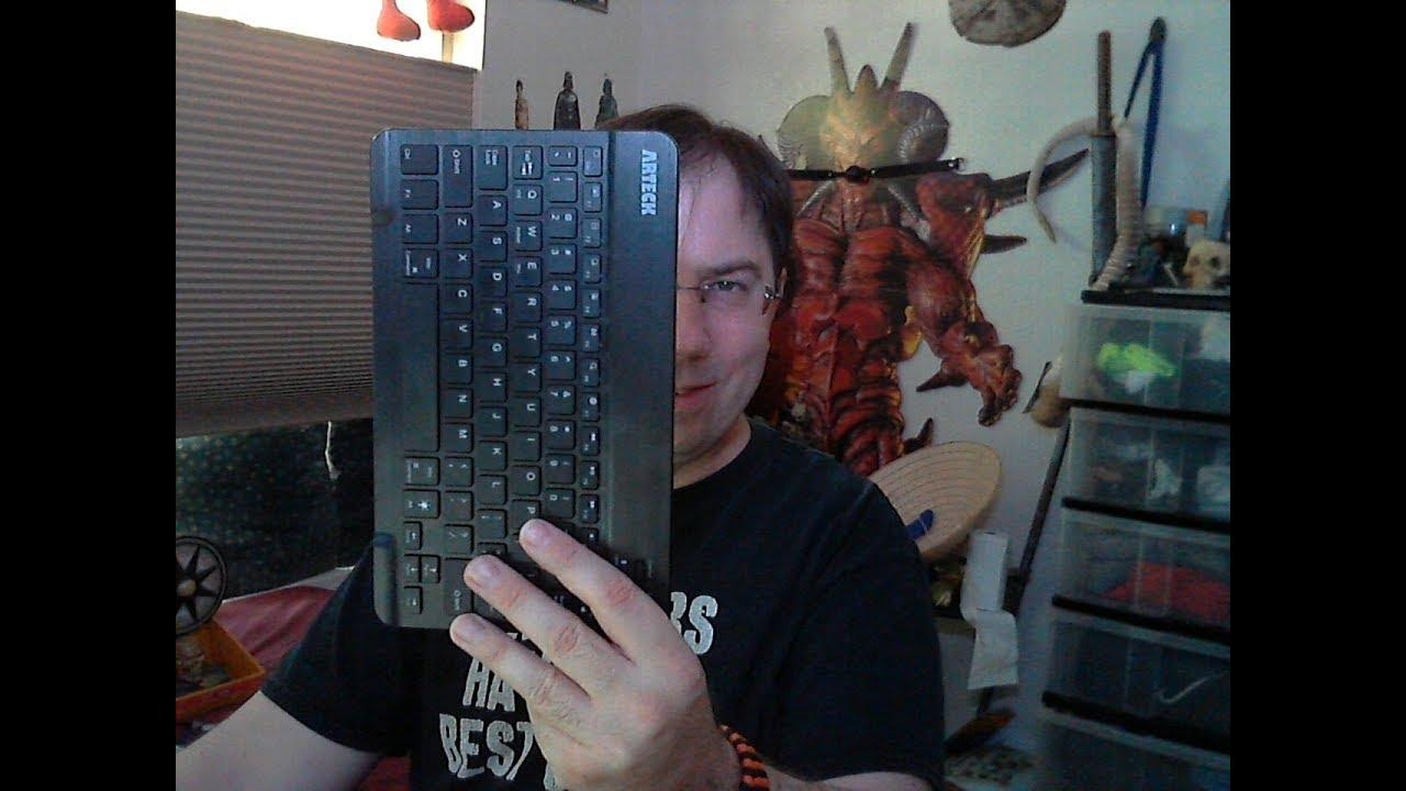 Artech Bluetooth back-lit keyboard Review