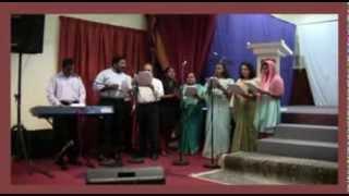 Itratholam jayam thanna ... Malayalam Christian Convention song by YMCA Abu Dhabi Choir 2013